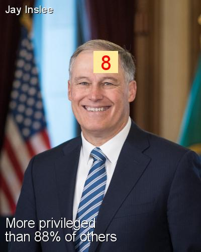 Jay Inslee - Intersectionality Score