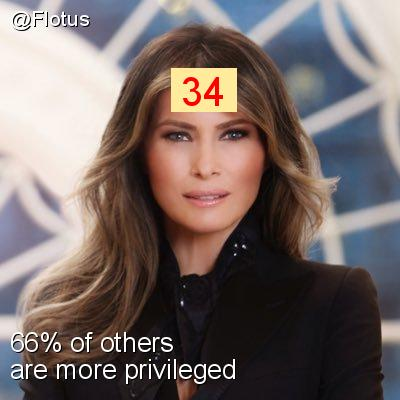 Intersectionality Score for @Flotus