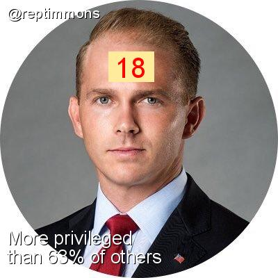 Intersectionality Score for @reptimmons